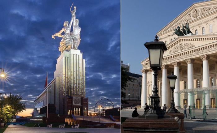 Скульптуры в Москве, которые…