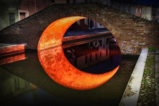 «Лунный» мост красота, перфекционизм, симметрия
