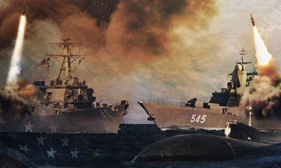 Флоты сходятся: Россия выдвинула корабли против АУГ США