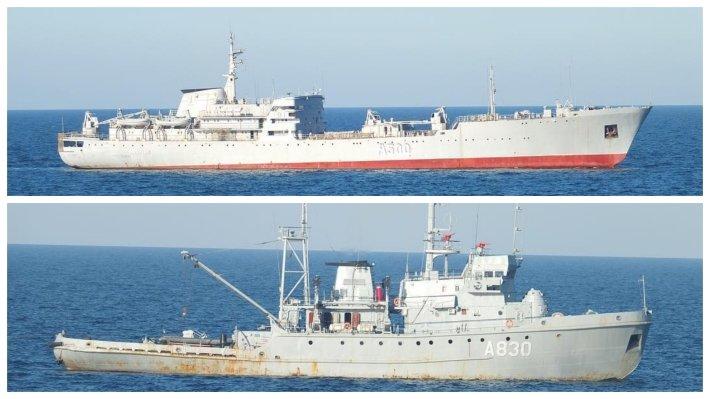 Украинская эскадра готова была дать бой Черноморскому флоту в Керченском проливе