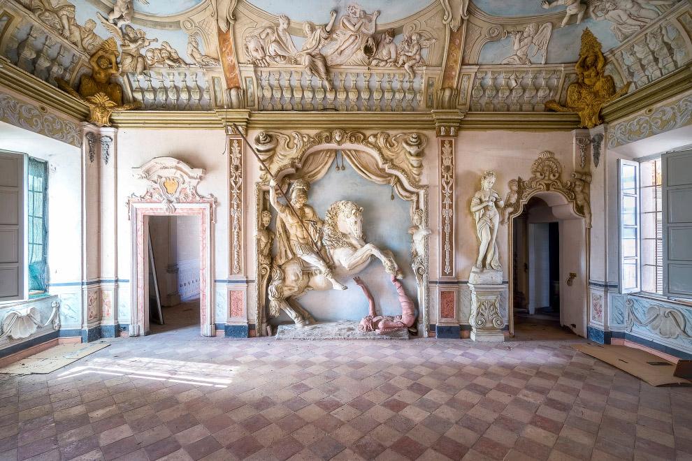 Героический дом в Италии.