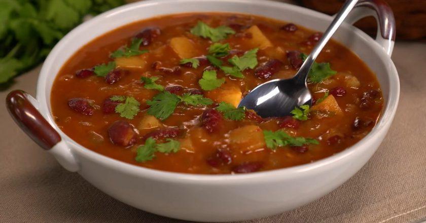 Грузинский суп «Шешамади»