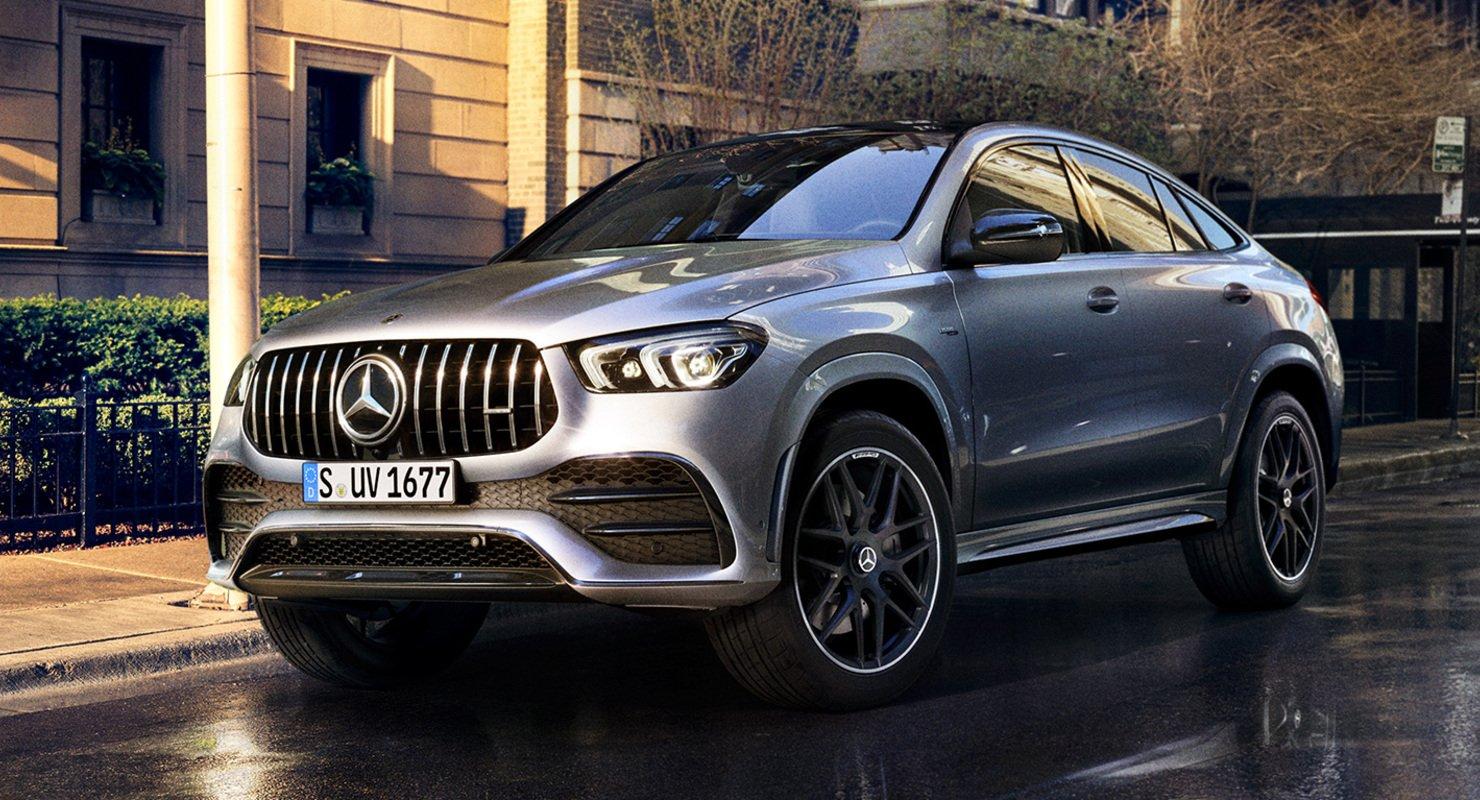 Mercedes-Benz готовит обновлённый кроссовер GLE: новое изображение Автомобили