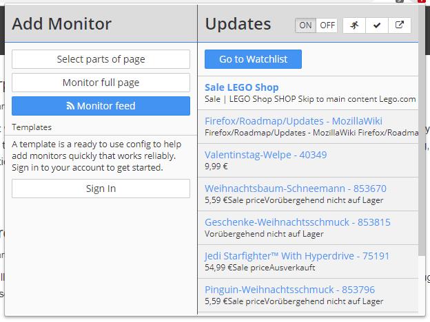 Как отслеживать изменения на любом сайте. Distill Web Monitor