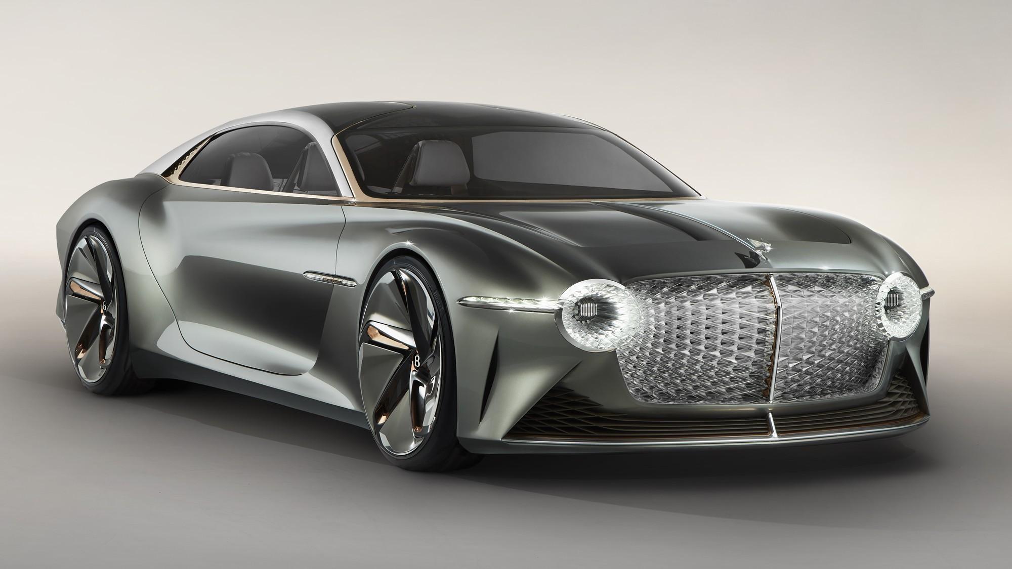 Первый электромобиль Bentley дотянут до высоты Aurus и предложат женщинам авто,авто и мото,автосалон,видео,водителю на заметку,машины,тюнинг