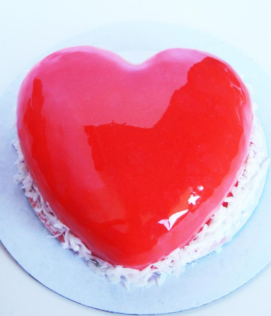 Муссовый торт -Сердце-: ингредиенты, рецепт с фото