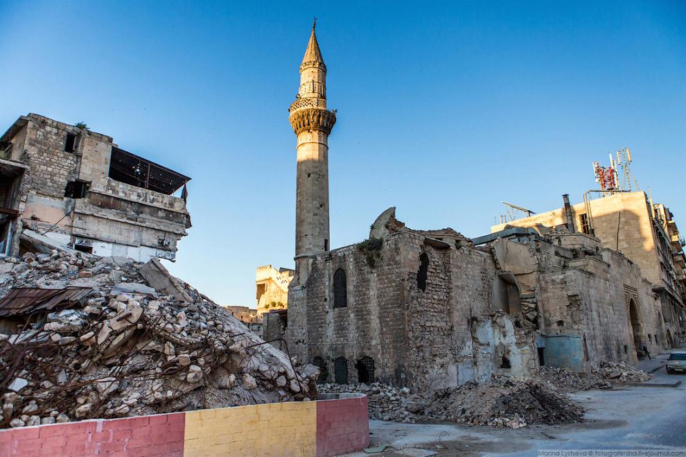 Остатки мечети Муса Амири.