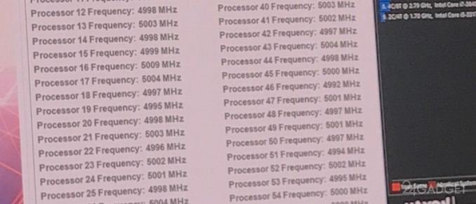 Intel разогнал 28-ядерный процессор при помощи холодильного агрегата