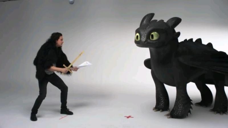 Джон Сноу рассказал, как приручил дракона Беззубика