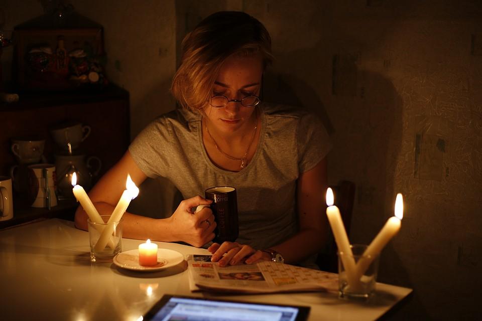 чтение при свечах