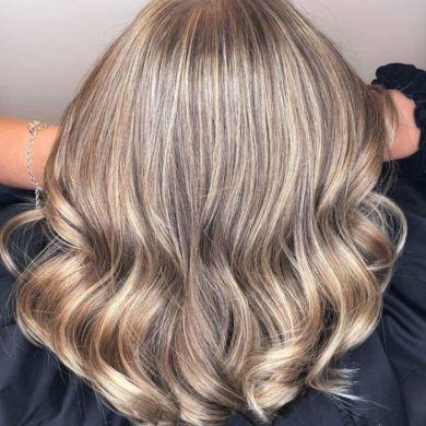 Ниточное окрашивание — новый тренд в окрашивании волос