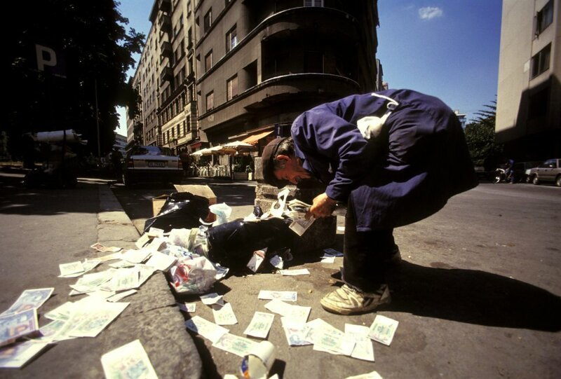 Югославия, рост цен на 65% в день африка, выход из кризиса, гиперинфляция, греция, история, рекорд