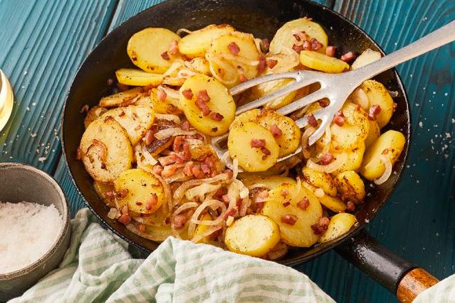 Жареная картошка по-немецки:…