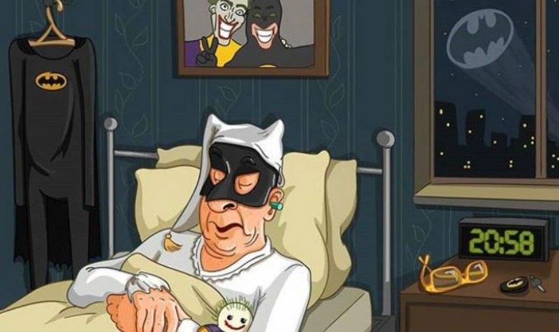 «У меня будет своя вселенная — Пенсионерия»: пермская художница рисует престарелых героев Marvel, DC и Disney