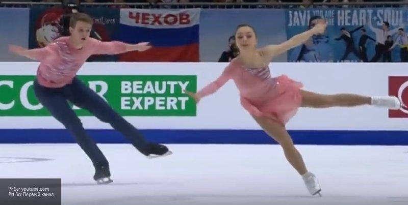 Российские фигуристы заняли весь пьедестал в парном катании на ЧЕ 2020 в Австрии