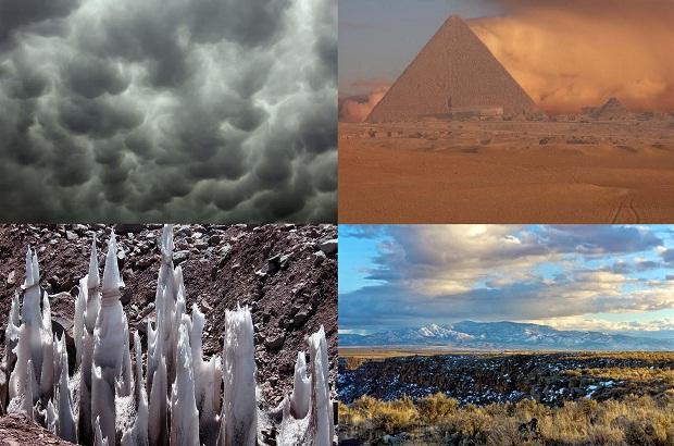 Самые необычные природные явления