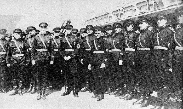 Русские фашисты Харбина, фотография 1934 года.