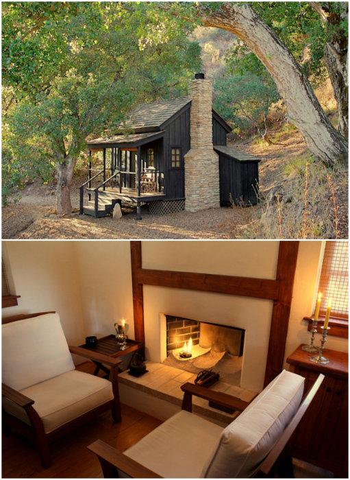 Крошечный домик площадью 12 кв. метров оборудован всем необходимым для комфортной жизни (Innermost House). | Фото: pinterest.co.uk.
