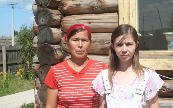 Жительницы русской деревни в Китае.