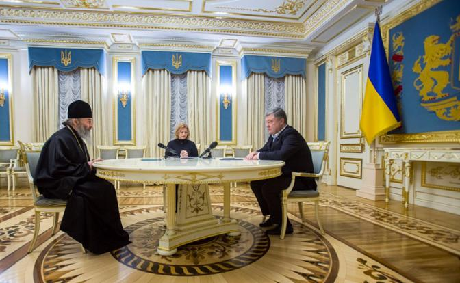 Украинская православная церковь взбунтовалась против Порошенко