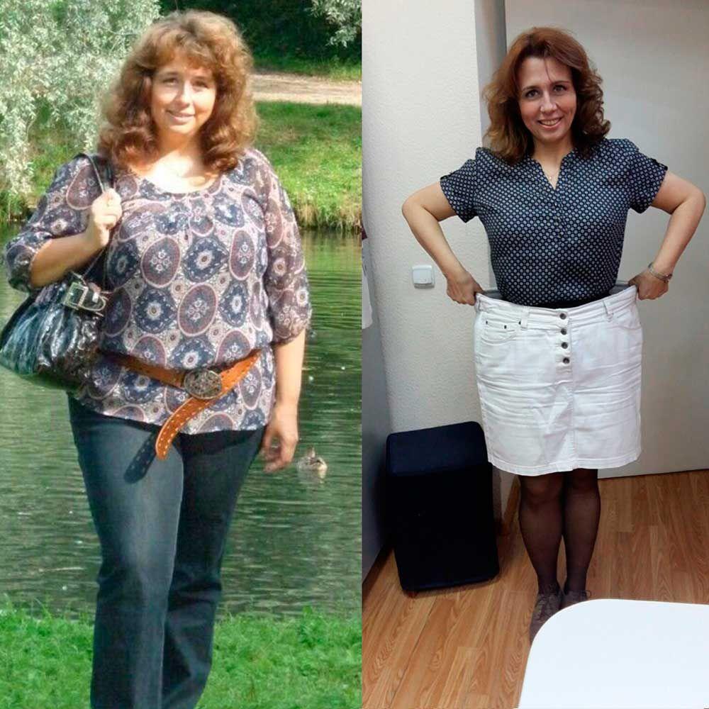 Реальные примеры похудения с фото