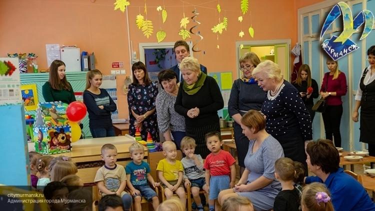 Мурманские депутаты оценили ремонт в детском саду № 109