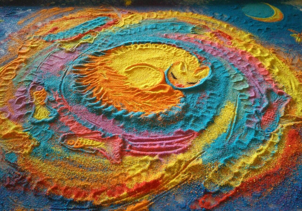 Стартап: песочная анимация