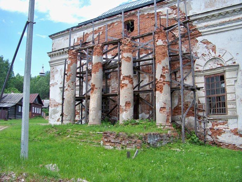 Разруха буквально на каждом шагу Города России, ивановская область, красивые города, пейзажи, путешествия, россия