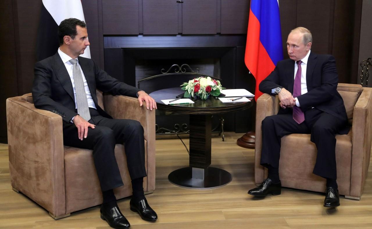 ТЕЛ.ПЕРЕГОВОРЫ..... -/- Президент Сирии Башар Асад посетил Россию с рабочим визитом