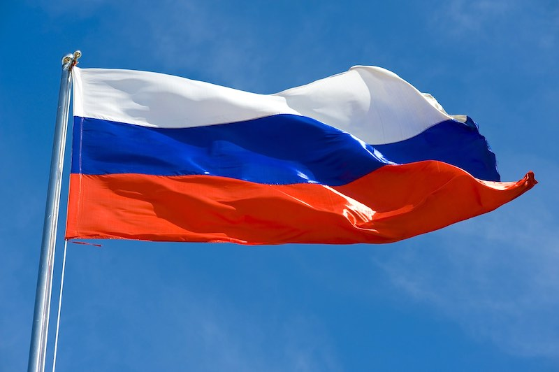 В Грузии предложили запретить флаг России
