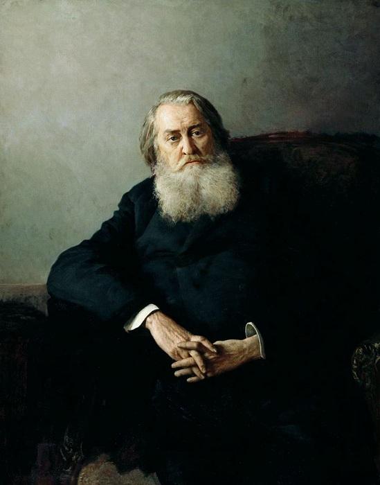 «Портрет М.А. Плещеева». (1887 год). Автор: Н. Ярошенко.