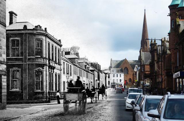 Фотографы объединили на одном снимке прошлое и настоящее городов мира