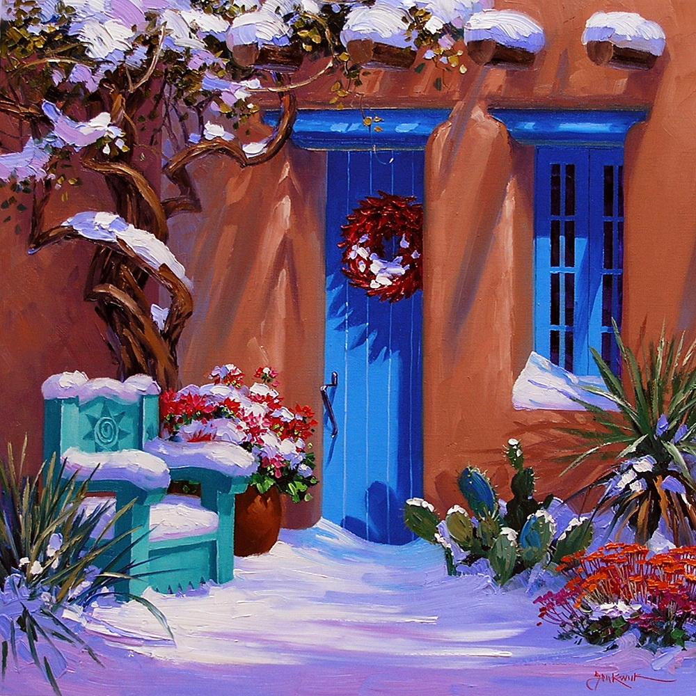 Возьми поярче краски и раскрась... живопись