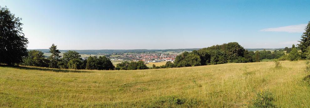 Штайнхаймский кратер (Баден-Вюртемберг, Германия)