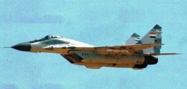 В Сирии сбит истребитель МиГ-29