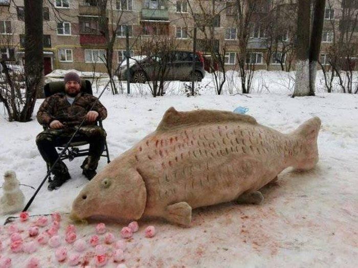 Забавные фото с российских п…