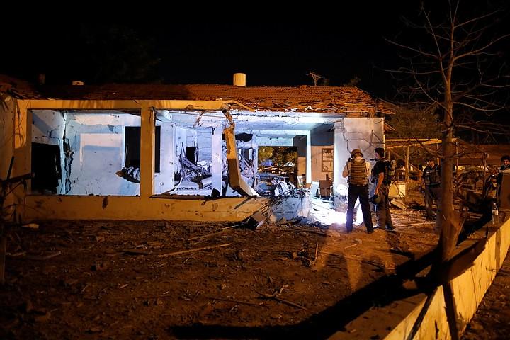 Израиле 53 человека пострадали в  результате ракетных обстрелов