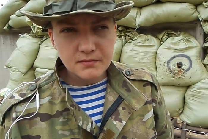 Савченко возглавит военный переворот на Украине?