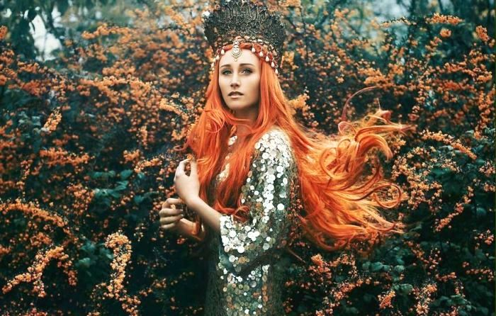 Фотографии, на которых обычные девушки превращаются в сказочных фей