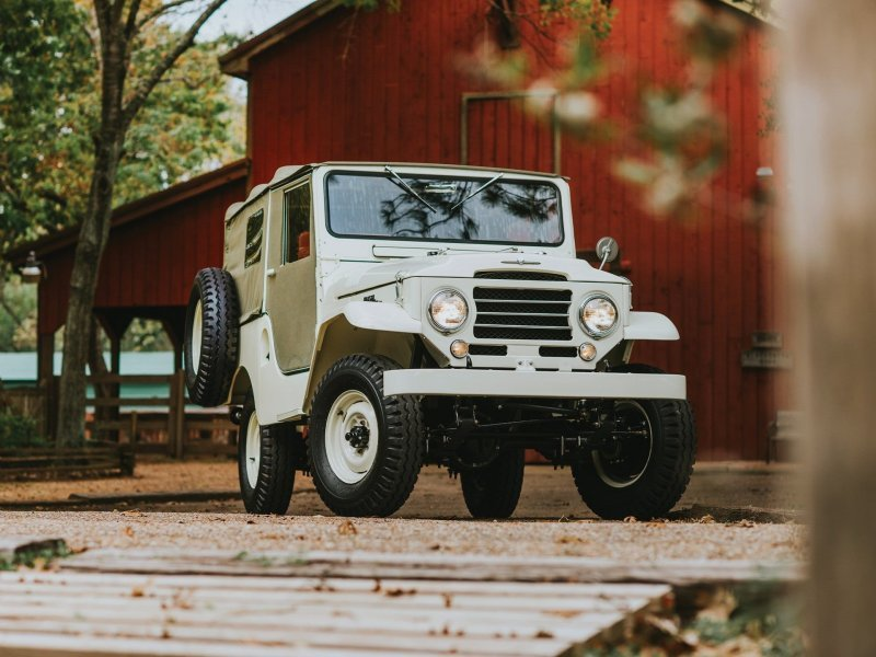 Toyota Land Cruiser FJ25 1955-1960: с чего начинался Крузак! land cruiser, toyota, toyota land cruiser, авто, автомобили, олдтаймер, реставрация, ретро авто