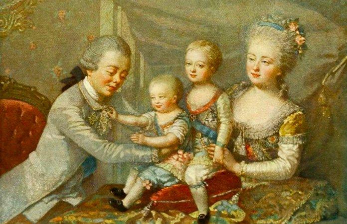 Инструкция Екатерины II по воспитанию внуков