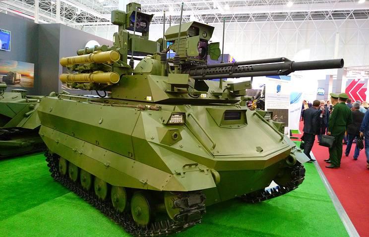 Американский аналитик раскритиковал российские робототехнические комплексы