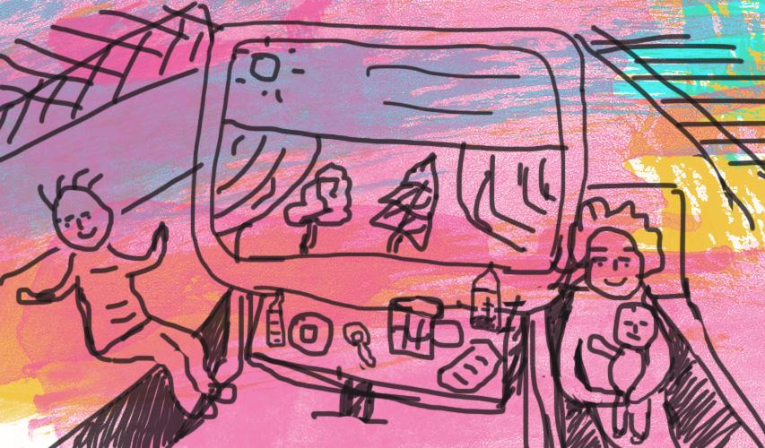 Как развлечь ребенка в поезде: собираем «волшебный чемоданчик радости»