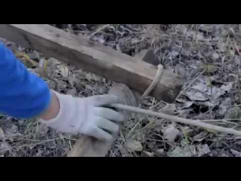 Отличный дедовский метод для тех, кто сам застрял в лесу авто и мото,автоновости,автосоветы,видео
