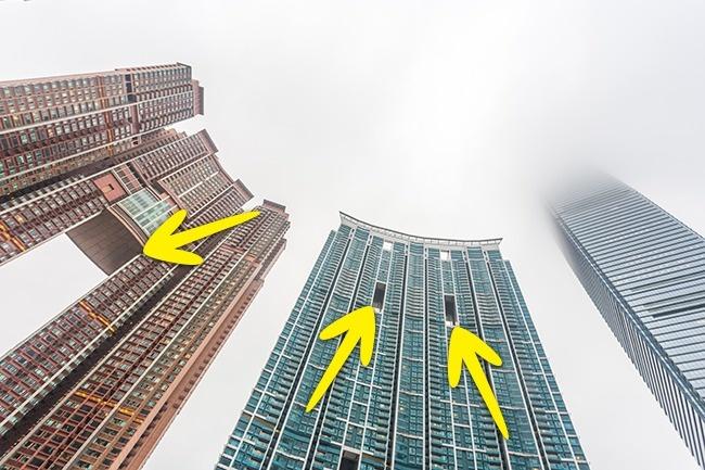 Вот в чем загадка «дырявых» гонконгских небоскребов