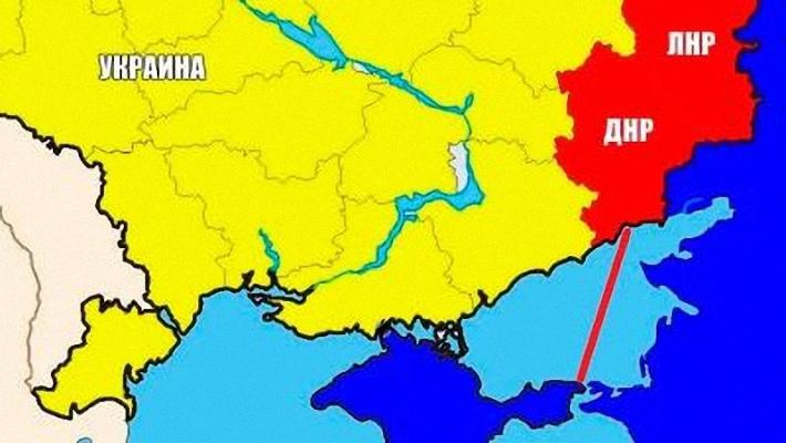 Аки по суху: Москва свяжет Новороссию и Крым азовским коридором