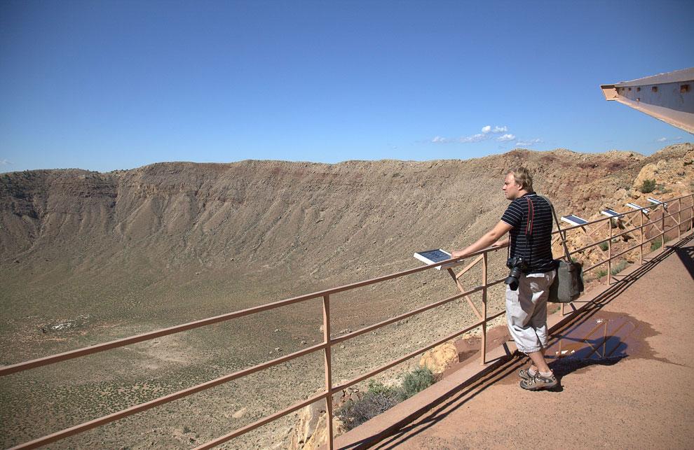 Кратер Бэрринджер (Аризона, США)