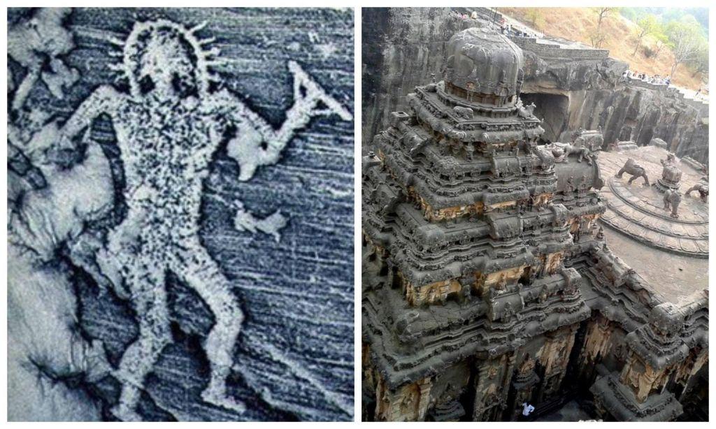 В Индии нашли древние картин…