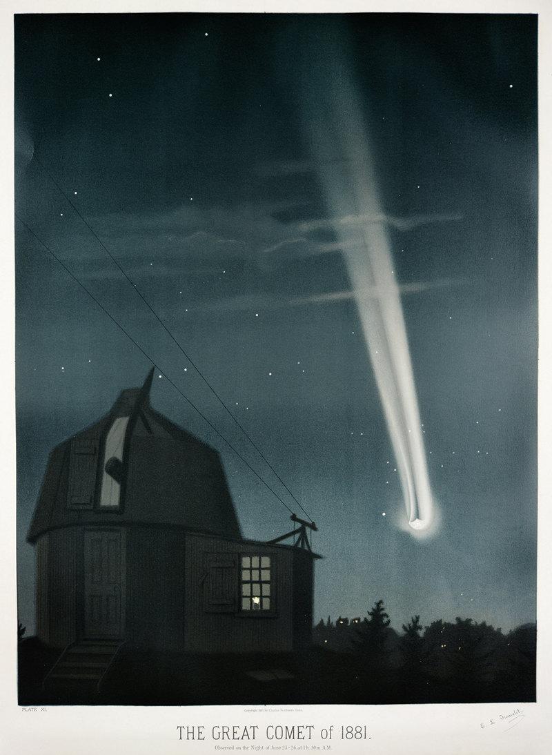 Старинные астрономические рисунки Этьена Трувело 8