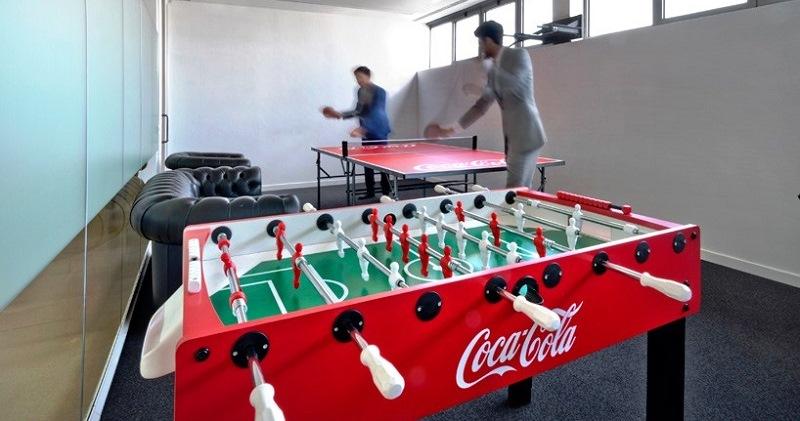 Как устроен офис Coca-Cola в Шанхае